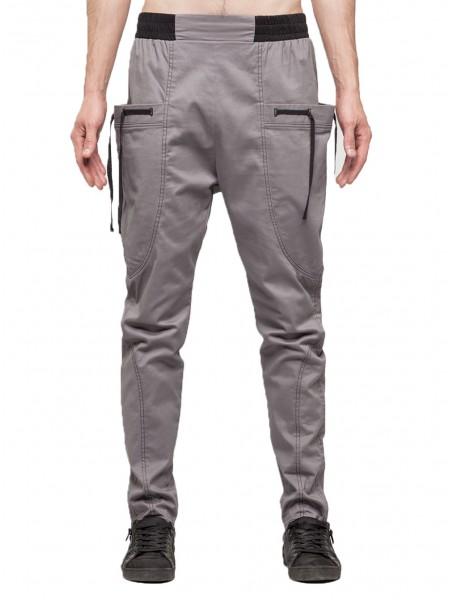 Брюки Bulging pockets grey