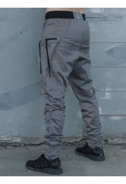 Брюки Bulging pockets grey