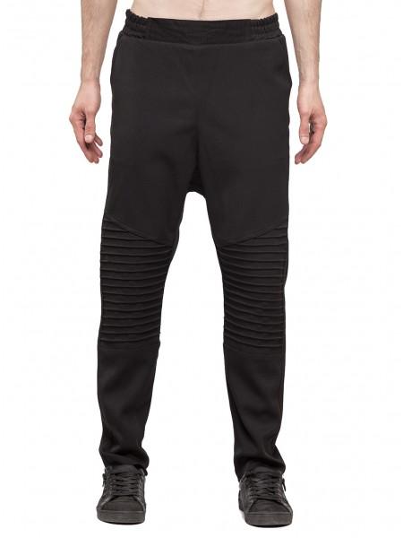 Утепленные брюки бисерка