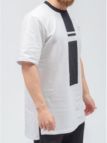 t-shirt futer white