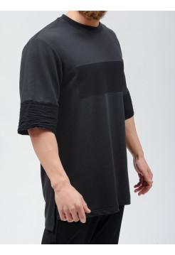 t-shirt futer black