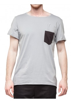 T-shirt pocket grey