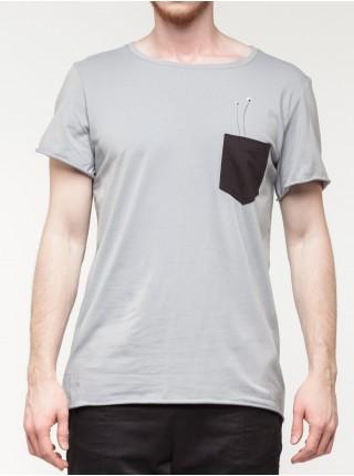 T-shirt pocket grey