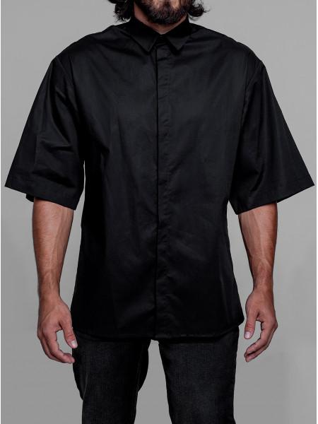Рубашка minimalism black
