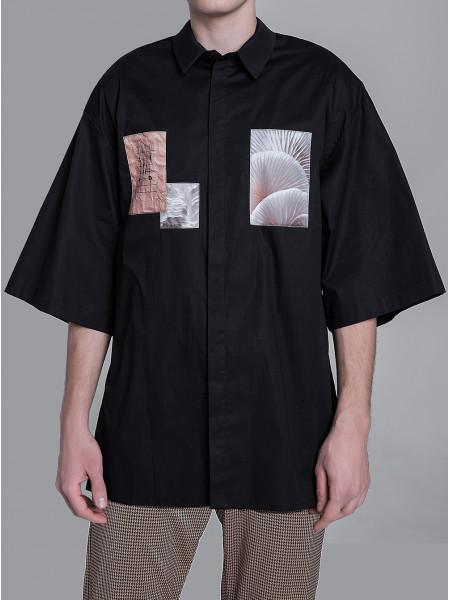 RS010 рубашка нашивки